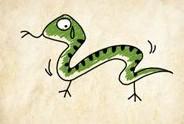 成语玩命猜一条添了爪子的蛇答案是什么?