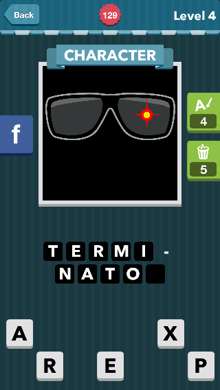 Sunglasses with red target.|Character|icomania answers|icoman