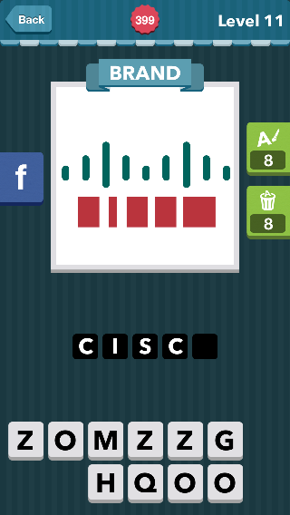 Blue lines and red squares below Brand icomania answers icoma